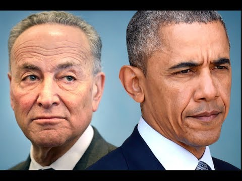 CHUCK SCHUMER JUST STABED OBAMA IN THE BACK EXPOSING OBAMA'S CRIMES OF BREAKING THE LAW!