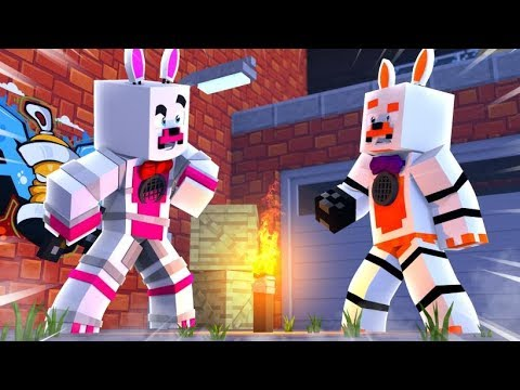 Is Funtime Foxy The Murderer (Minecraft Fnaf Roleplay Adventure)