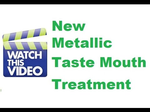Metallic Taste On Your Tongue - Health Product Business