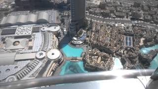 At The Top Burj Khalifa elevator experience