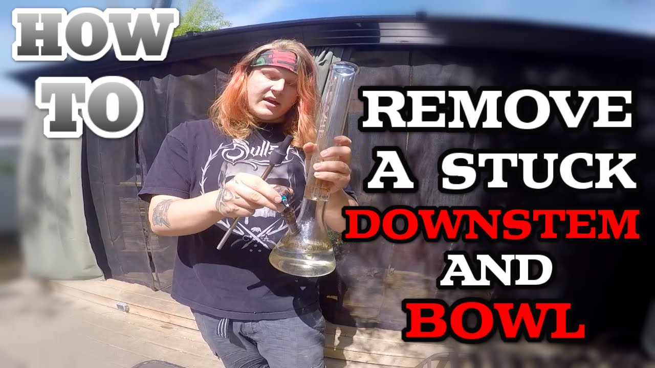 How To Remove A Stuck Bowl And Downstem Youtube