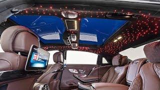 2020 Mercedes Maybach S650 Brabus 900 hp - interior Exterior and Drive