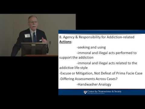 Stephen J  Morse presents Addiction & Agency  Vanderbilt Judicial Colloquium, Feb  2014