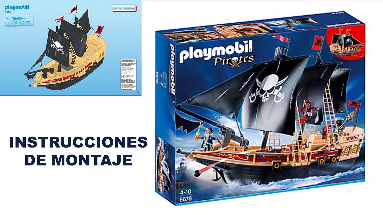 Playmobil 6678 barco pirata buque corsario pirates for Barco pirata playmobil