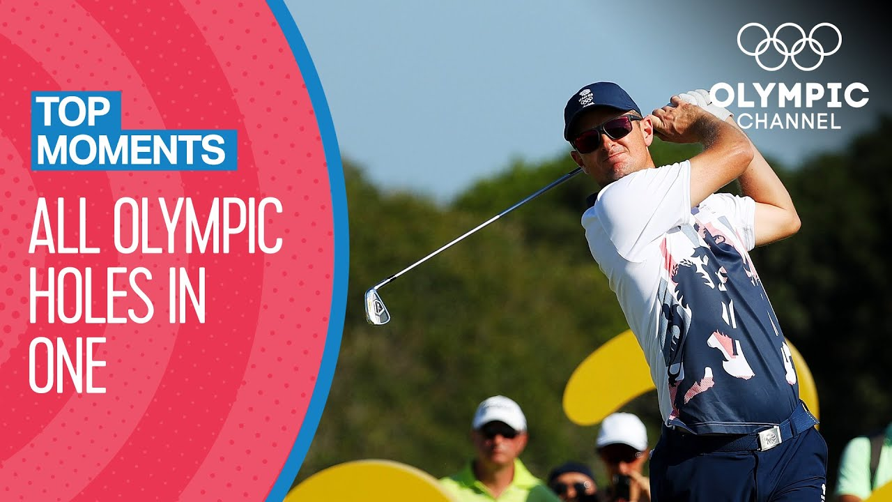 Every Golf hole in one at the Olympics! | Top Moments