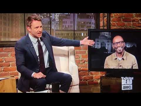 Lennie James'  on Talking Dead all but SPOILS his own death! WATCH