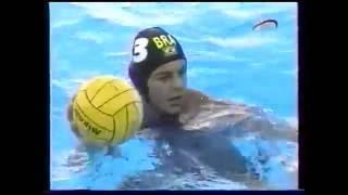 Водное поло.  Чемпионат мира 2003.  Россия - Бразилия