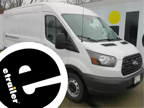 trailer wiring harness installation - 2014 ford transit connect -  etrailer com - youtube