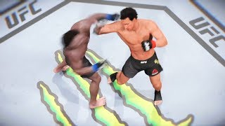EA SPORTS UFC 2 Rocky Balboa KO Mode v Drago & Creed