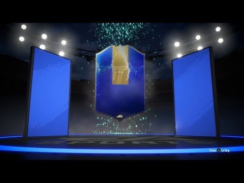 AWESOME ELITE 1 REWARDS FOR ULTIMATE TEAM OF THE SEASON 28-2 REWARDS WITH CUSTOM TACTICS FIFA 19