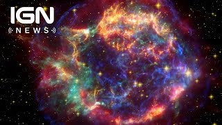 nasa catches flash of an exploding star for the first time ign news