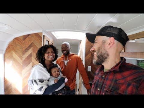 Building a Skoolie Community + Open House Party