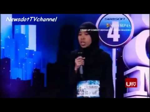 Sri Rahayu   Audisi Bandung Stand Up Comedy Indonesia Season 4   Susahnya Jadi Hijabers Kompas TV