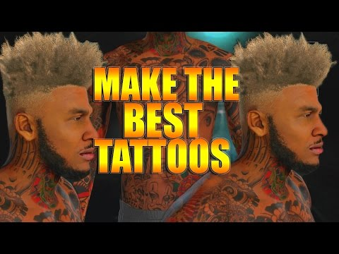 nba-2k16-tips/tricks---full-arm-sleeve-tattoo-tutorial- -how-to-make-the-best-tattoos
