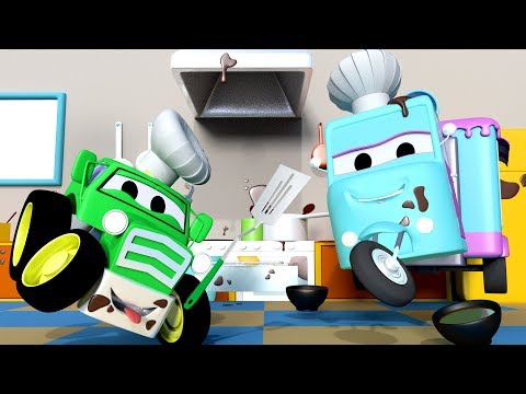 Thumbnail: The Bake Sale ! with the Baby Cars in Car City ! - Cartoon for kids The BAKE Sale