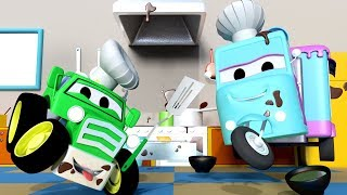 The bake sale ! with the baby cars in car city ! - cartoon for kids the bake sale