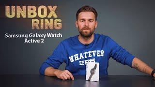 NAUJAS SMART WATCH!   Samsung Galaxy Watch Active 2   Unbox Ring apžvalga