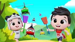 Family Dance Song | Police Helicopter |  Baby Shark | Kids Dance Song #appMink Kids Song & Nursery