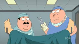 Meg Griffin gets born - That wasn't the cord and now you've got a girl
