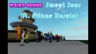 Weird Genius - Sweet Scar (ft. prince husein) - Roblox Indonesia Music Video