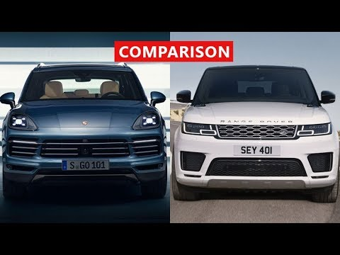2018 Range Rover Sport Vs Porsche Cayenne Comparison Amazing New Luxury Suvs