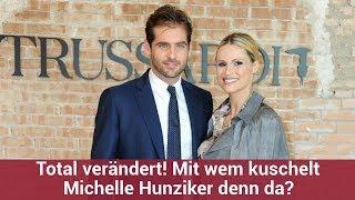 Total verändert! Mit wem kuschelt Michelle Hunziker denn da?   CELEBRITIES und GOSSIP