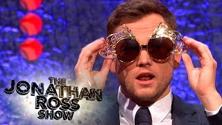 Taron Egerton Confirms He Will Play Elton John - The Jonathan Ross Show