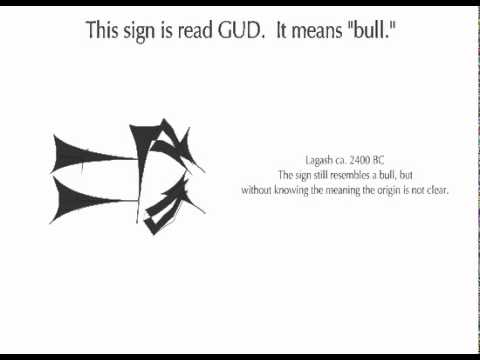 The Development of Cuneiform - GUD