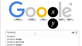 Google Doodle - Homenagem a George Boole - 02/11/15 (#2)