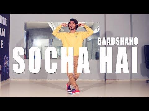 socha hai baadshaho  FreeStyle Dance  Vicky Patel Choreography  Keh doon tumhe