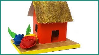 Paper House Craft | How to Make an Origami Paper House | Paper House Children