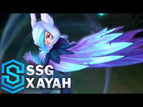 SSG Xayah Skin Spotlight - Pre-Release - League of Legends thumbnail