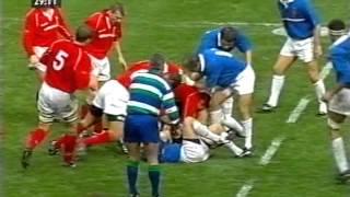 France 35 vs 43 Wales - Six Nations 2001