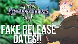 Kingdom Hearts 3 FAKE Release Date Information and Rumours!