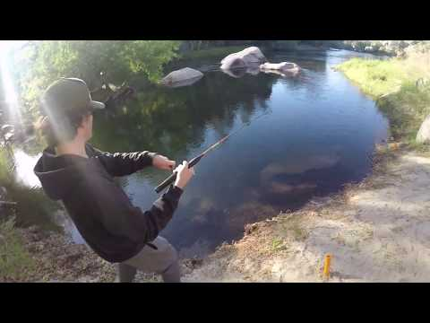 KERN RIVER FISHING!!! (First Small Mouth Bass!!!!)