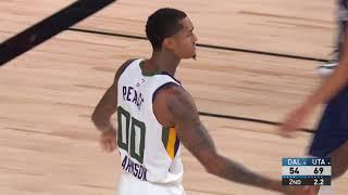 Utah Jazz vs Dallas Mavericks | August 10, 2020