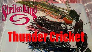 Strike king Thunder Cricket   Vibrating jig