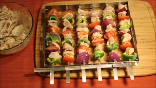 How to Make Quick Chicken Kabobs