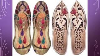 Traditional Rajasthan Footwear Designs