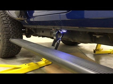Amp Research Power Step Jeep Wrangler JK Install