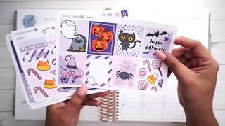 Plan with Me!   Halloween Week