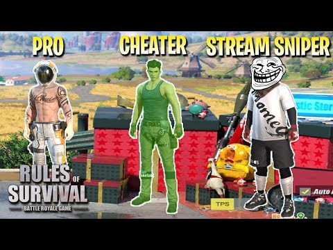 WINNING A CUSTOM GAME AGAINST PROS & CHEATERS! | STREAM SNIPERS - Rules of Survival