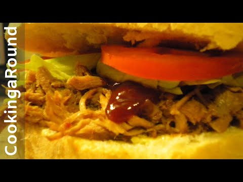Slow Cooker Texas Pulled Pork Recipe