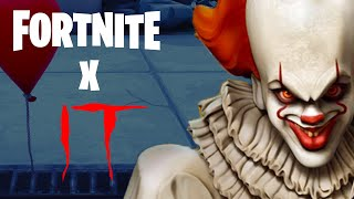 Fortnite X IT is Happening NOW! no FREE Skin Explained! (+PS4 Exclusive Skin Leaked!)