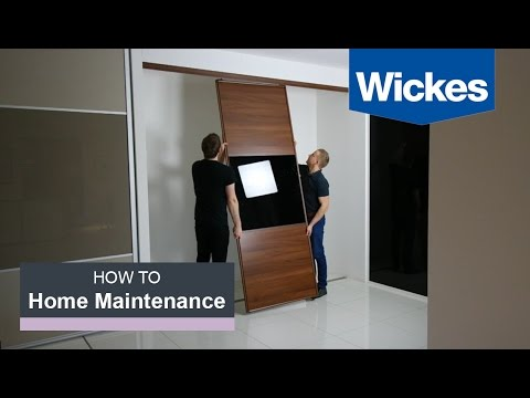 How To Measure & Fit Wardrobe Doors With Wickes