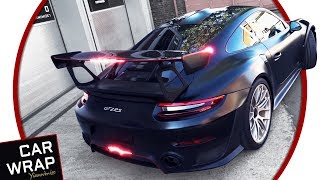 Porsche GT2 RS gets Red Pinstripes Decal