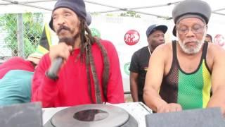 Skelly of Israel Vibration Reggae on The Boardwalk August 6 2017