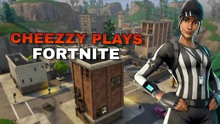 How Cheezzy Really Plays Fortnite-Stream Highlights!