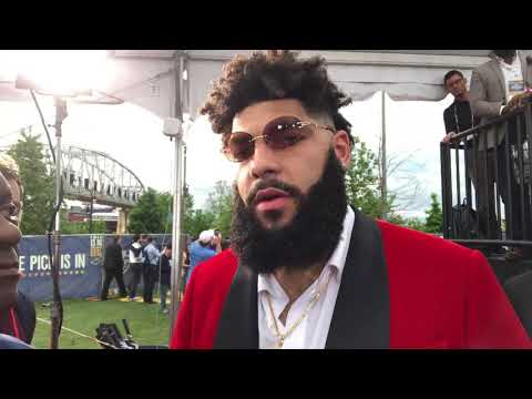 Cody Ford Talks 2019 NFL Draft And Shoe Game On Red Carpet