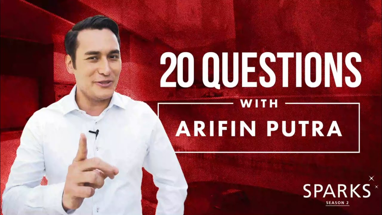 #QuestionOfLife with Arifin Putra